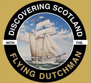 Unsere Segelreisen durch Schottland werden auf dem Schiff der Flying Dutchman durchgefuehrt.